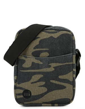 Mi-Pac Flight Canvas Camo Cross Body Bag - Khaki