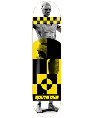 Route One Dummies Skateboard Deck - 7.875