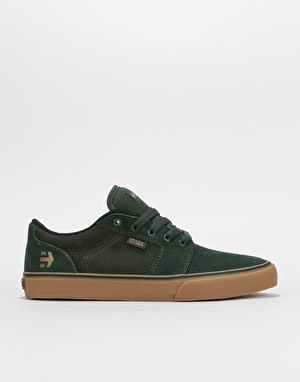 Etnies Barge LS Skate Shoes - Green/Gum