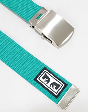 Obey Big Boy Web Belt - Teal