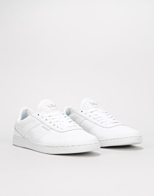 Supra Elevate (Spencer Hamilton Signature) Skate Shoes - White/White