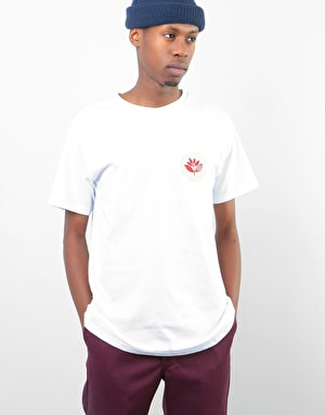 Magenta Energy T-Shirt - White