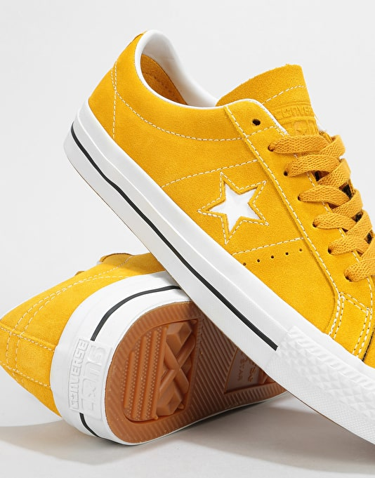 Mineral Skate Star Pro Shoes YellowWhiteBlack Ox Converse One TOXlPuwkZi