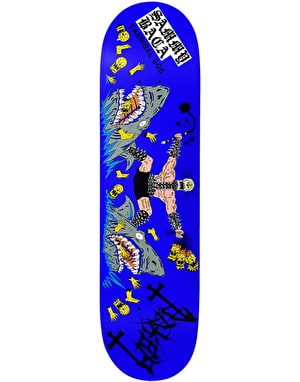 Baker Baca Cannibal Skateboard Deck - 8