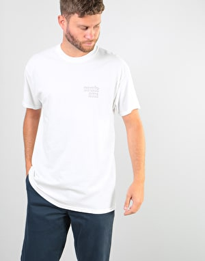 Route One Slick T-Shirt - White