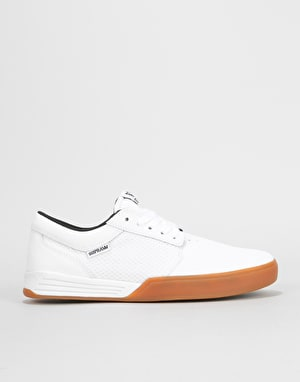 Supra Hammer Shoes - White/Gum