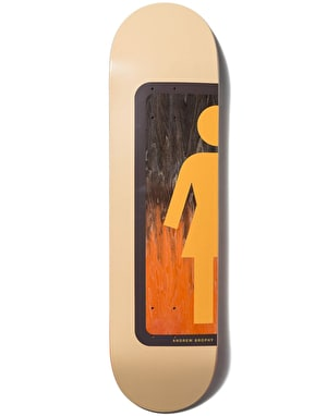 Girl Brophy Ombre OG Skateboard Deck - 8.125