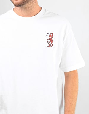 Pass Port D.A.Y.W Puff T-Shirt - White