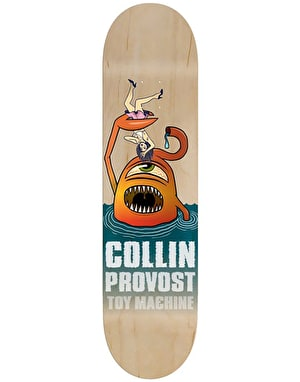Toy Machine Provost Sect Attack Skateboard Deck - 8.375