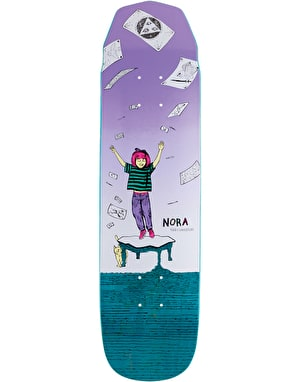 Welcome Nora Magilda on Wicked Mini Skateboard Deck - 7.6