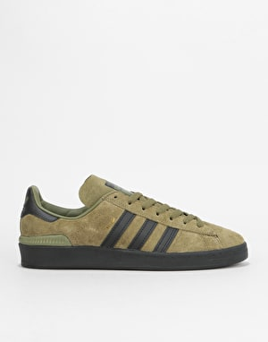 Adidas MJ Campus ADV Skate Shoes - Olive Cargo/Core Black/Gold