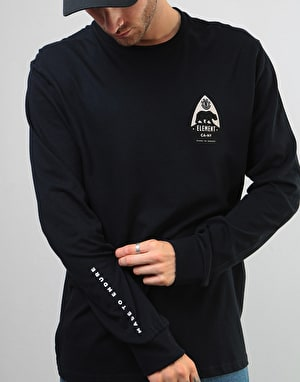 Element Arrow LS T-Shirt - Flint Black