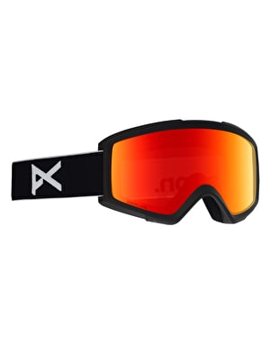 Anon Helix 2 Sonar 2019 Snowboard Goggles - Black/Sonar Red