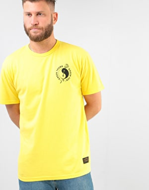 Levi's Skateboarding Graphic S/S T-Shirt - Green Thumb/Lemon Zest