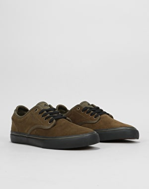Emerica Wino G6 Skate Shoes - Olive/Black