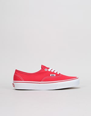 Vans Authentic Womens Trainers - Red