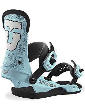 Union Scott Stevens 2019 Snowboard Bindings - Blue