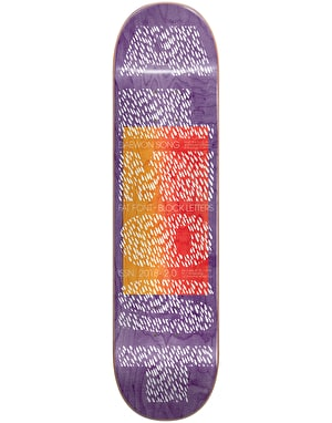 Almost Daewon Fat Font Skateboard Deck - 8.125