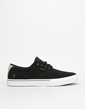Etnies Jameson Vulc Skate Shoes - Black/White/Silver