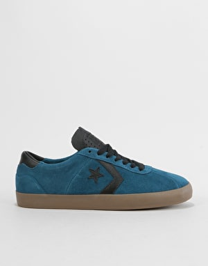 Converse Breakpoint Pro Ox Skate Shoes - Blue Fir/Black/Gum Brown