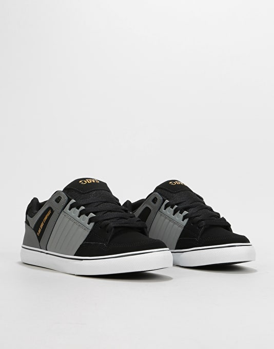 DVS Celsius CT Skate Shoes - Charcoal/Grey/Black