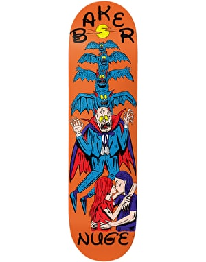 Baker Nuge Ways To Die Skateboard Deck - 8.25