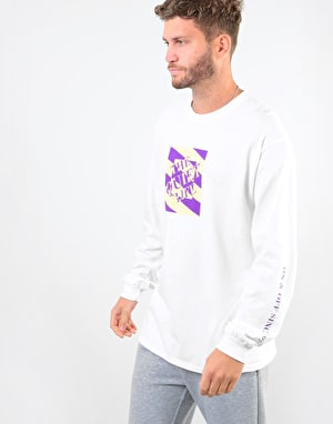 The Quiet Life Optical L/S T-Shirt - White