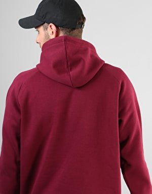 Carhartt Carhartt Hooded Chase Sweatshirt - Mulberry/Gold