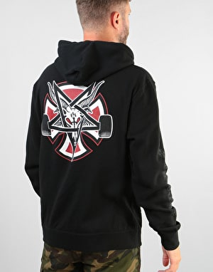 Independent x Thrasher Pentagram Cross Pullover Hoodie - Black