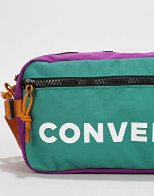 Converse Fast Cross Body Bag - Vintage Jade /Con Violet