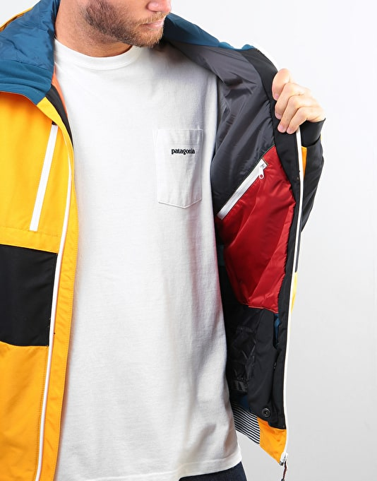 Picture Panel 2019 Snowboard Jacket - Yellow