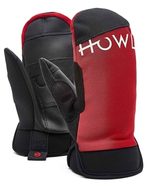 Howl Jeepster 2018 Snowboard Mitts - Red