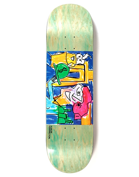 Polar Herrington Debacle Skateboard Deck - 8.125""