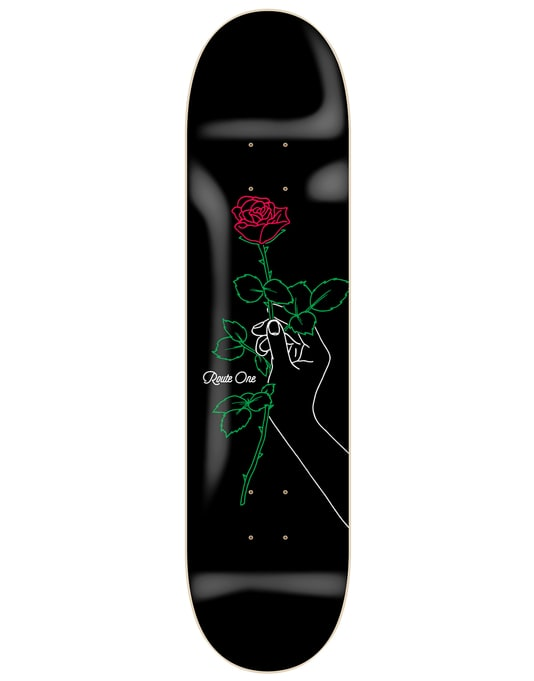 Route One With Love Skateboard Deck - 8""