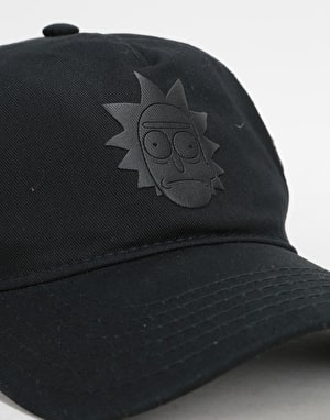 Primitive x Rick & Morty Rick Puff Hat Black