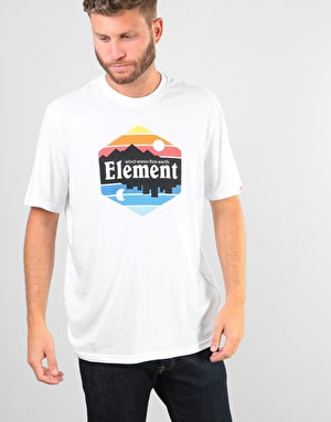Element Dusk T-Shirt - Optic White