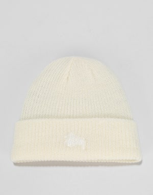 Stüssy Basic Cuff Beanie - Off White