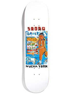 5Boro x MKG Grocery Girl Nueva York Series Skateboard Deck  - 8.375