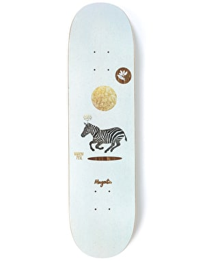 Magenta Feil Perceptions Skateboard Deck - 8.4