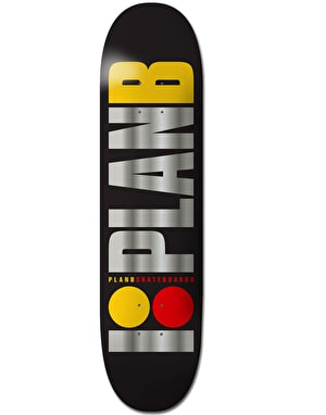 Plan B OG Team BLK ICE Skateboard Deck - 7.75