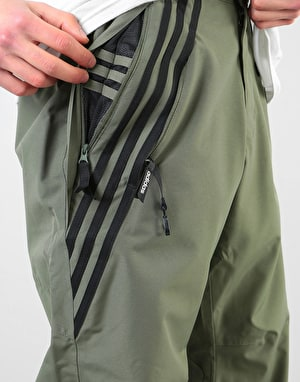 Adidas Riding 2019 Snowboard Pants - Base Green/Black