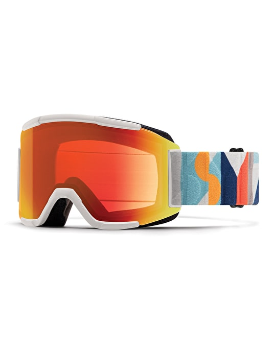 Smith Squad 2019 Snowboard Goggles - Evan Hecox/Everyday Red Mirror