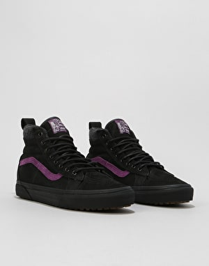 Vans Sk8-Hi 46 MTE DX Skate Shoes - Black/Purple (Blake Paul)