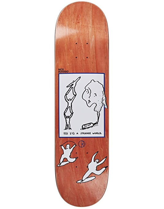 Polar Boserio It's a Strange World Skateboard Deck - 8.5""