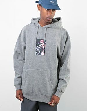 Manor Murphy Pullover Hoodie - Heather Grey