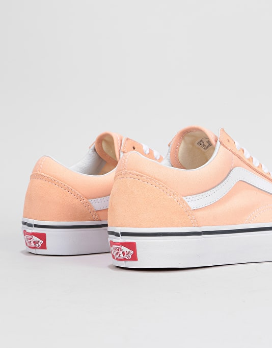 Vans Old Skool Womens Trainers - Bleached Apricot/True White