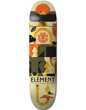 Element Garcia Forester Skateboard Deck - 8