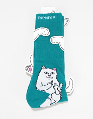 RIPNDIP Lord Nermal Socks  - Aqua
