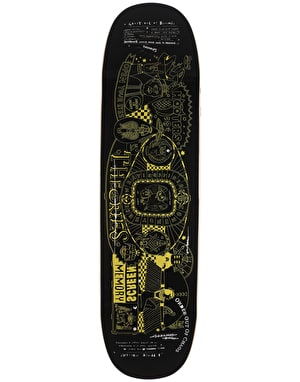 Theories Screen Memory UFO Shape Skateboard Deck - 8.5