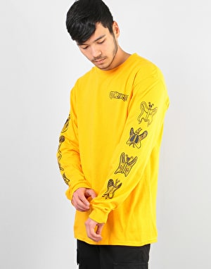 Otherness Butterfly L/S T-Shirt - Yellow